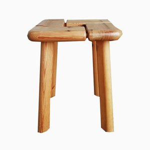 Pine Stool from Lagerholm, 1960s