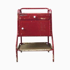 Mueble industrial vintage de metal