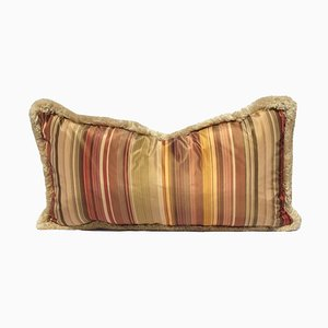 Floral Silk Lampas Pillow by Katrin Herden for Sohil Design