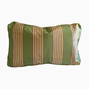 Thai Silk Stripe Pillow by Katrin Herden for Sohil Design