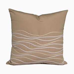 Waves Pillow by Katrin Herden for Sohil Design