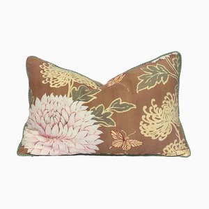 Floral Print Peony Pillow by Katrin Herden for Sohil Design