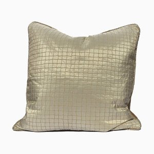 Silk Jacquard Pillow by Katrin Herden for Sohil Design