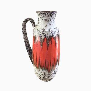 West German Model 426-47 Orange Fat Lava Vase from Scheurich, 1960s