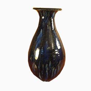 Vaso vintage in ceramica di Roger Guerins