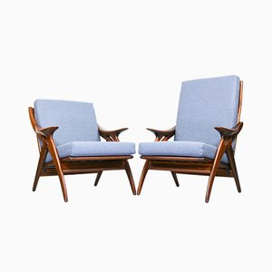Armchairs from De Ster Gelderland, 1960s, Set of 2