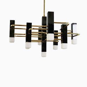 Mid-Century Ceiling Lamp by Gaetano Sciolari for Sciolari