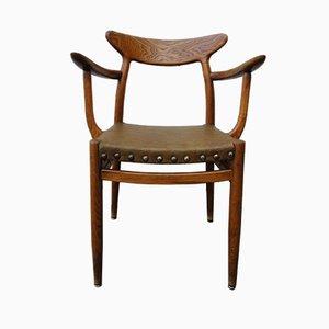 Rustic Armchair by Hans J. Wegner, 1960s
