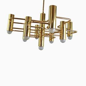 Mid-Century Deckenlampe von Gaetano Sciolari für Sciolari
