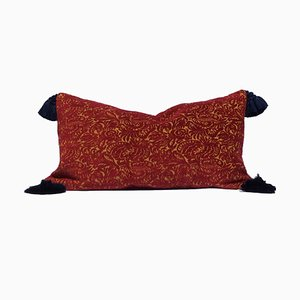 Chenille Jacquard Velvet Pillow by Katrin Herden for Sohil Design