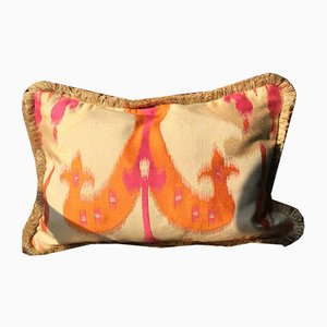 Ikat Jacquard Pillow by Katrin Herden for Sohil Design