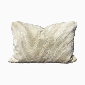 Jacquard Velvet Zebra Pillow by Katrin Herden for Sohil Design