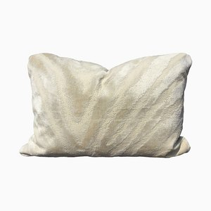 Jacquard Velvet Zebra Pillow by Katrin Herden for Sohil Design