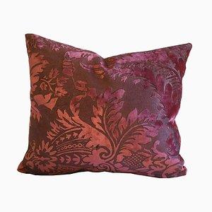 Embossed Velvet Pillow by Katrin Herden for Sohil Design