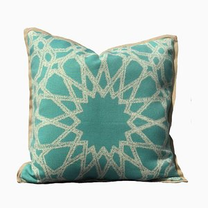 Beige Casablanca Pillow by Katrin Herden for Sohil Design