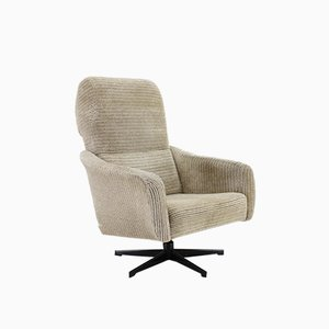 Grey Swivel Chair, 1970s