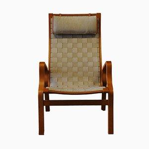 Beech Bentwood Armchair, 1940s