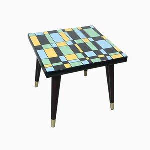 Mondrian Style Coffee Table, 1950s