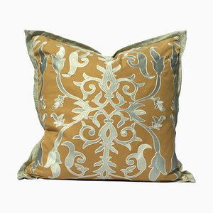 Arabesque Embroidery Pillow by Katrin Herden for Sohil Design