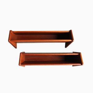 Danish Rosewood Wall Unit by Aksel Kjersgaard for Odder Møbler, 1950s