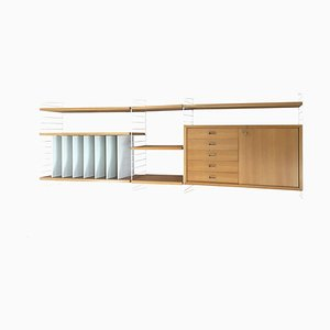 Wall Unit by Strinning, Kajsa & Nisse for String, 1960s