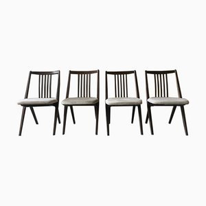 Danish Elm Dining Chairs, 1960s, Set of 4