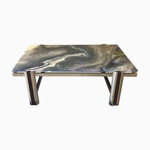 Mesa de centro de mármol, años 70