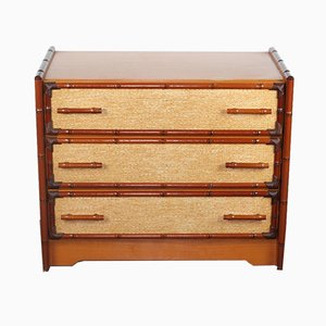 Bamboo & Cane Dresser from Gami, 1980s