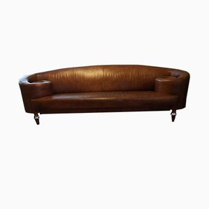 Vintage Leather Gioconda Sofa by Maroeska Metz for De Ster Gelderland, 1990s