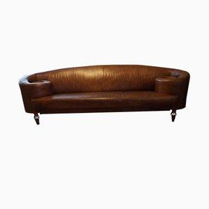 Vintage Leather Gioconda Sofa by Maroeska Metz for De Ster Gelderland, 1990s