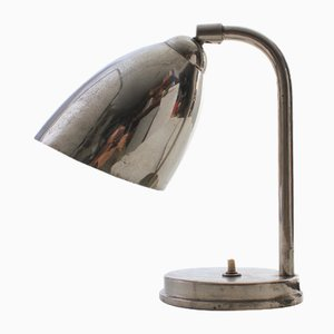 Bauhaus Style Chrome Table Lamp, 1930s
