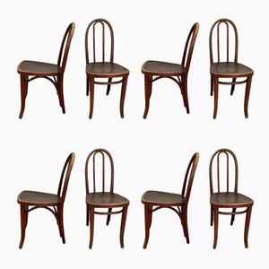 Vintage No.638 Dining Chairs from Thonet, Set of 8