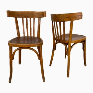 Chaises de Salle à Manger Vintage de Fischel, Set de 16