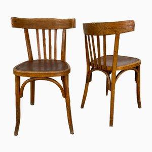 Vintage Esszimmerstühle von Fischel, 16er Set