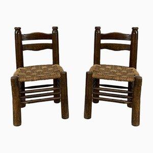 Chaises de Salle à Manger Vintage, Set de 2