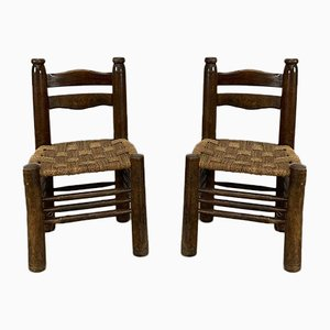 Vintage Dining Chairs, Set of 2