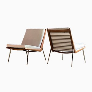 Lounge Chairs by Peter Hvidt & Orla Mølgaard-Nielsen for France & Søn / France & Daverkosen, 1950s, Set of 2
