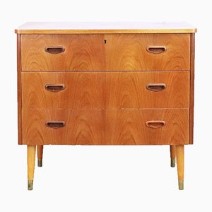 Mid-Century Scandinavian Teak Chest, 1960s