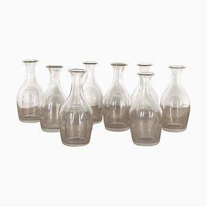 Wasserkaraffen aus Glas, 1889, 9er Set