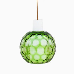 Bubble Glass Pendant Lamp by Aloys Gangkofner for Peill & Putzler, 1960s