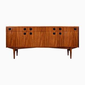 Danish Tigerwood Sideboard, 1960s
