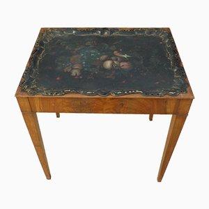 Antiker Biedermeier Tabletttisch
