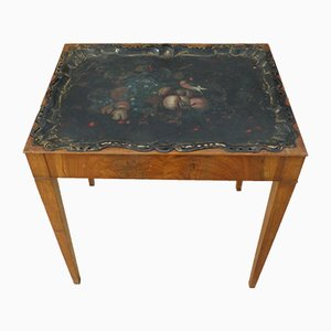 Antique Biedermeier Tray Table