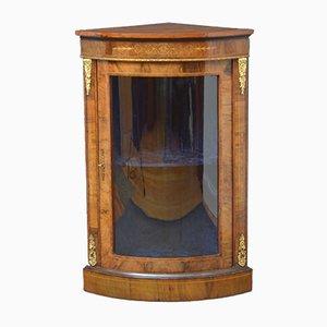 Mueble esquinero antiguo de nogal