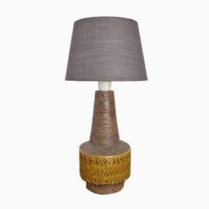 Tischlampe von Aldo Londi für Bitossi, 1960er