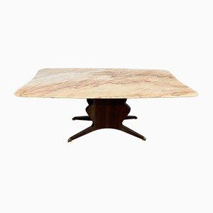 Table de Salle à Manger Mid-Century par Osvaldo Borsani pour Turri