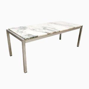 Tavolino da caffè in marmo, Italia, anni '70