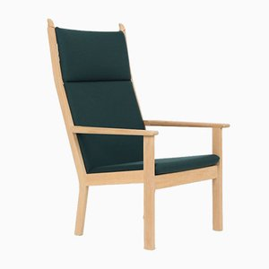 Vintage GE284A Armchair by Hans J. Wegner for Getama