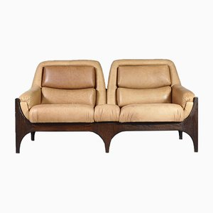 Mid-Century Danish Leather Sofa, 1960s