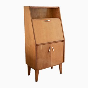 Vintage Wood Secretaire, 1950s